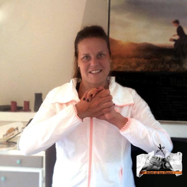 Atleti al tuo fianco Karin Knapp