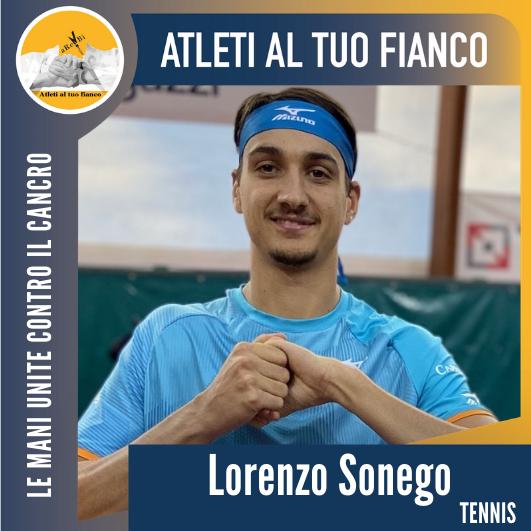 Atleti al tuo fianco Lorenzo Sonego