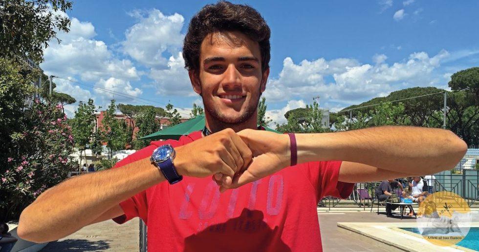 Atleti al tuo fianco Matteo Berrettini