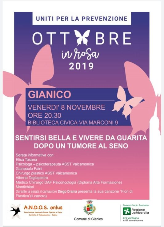 Conferenza a Gianico