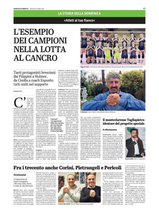 Le parole del Giornale di Brescia