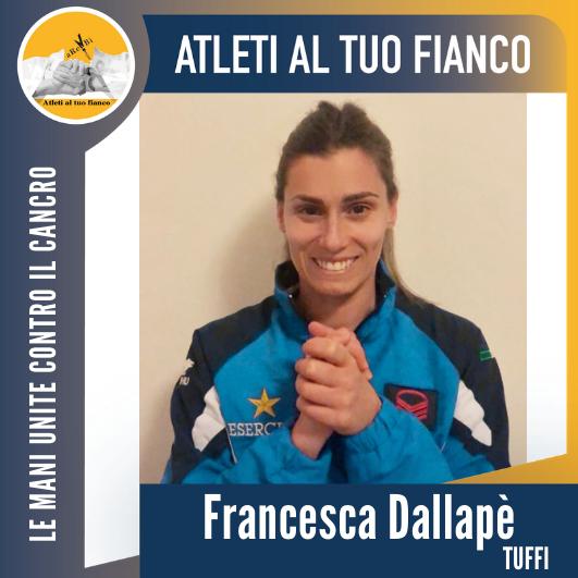 Atleti al tuo fianco Francesca Dallapè